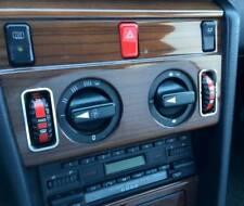 D Mercedes W124 Chrom Rahmen für Klima Temperaturregler - Edelstahl poliert
