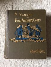 A Yankee in King Arthur's Court - First Canadian Edition - 1890