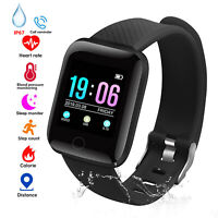Smart Watch Bracelet Wristband Fitness Tracker Blood Pressure Heart Rate Monitor