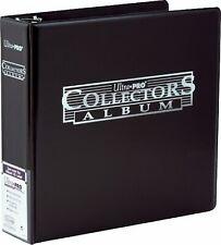 3 Ring Album Ultra Pro COLLECTORS BLACK Nero Raccoglitore ad Anelli 9 Tasche