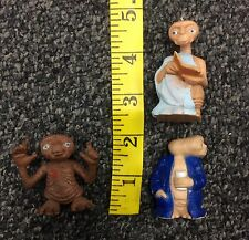 1982 ET Extra Terrestrial PVC Mixed Toy Lot Used free shipping