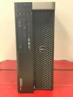 Dell T5810 - Xeon 6 Core E5-1650v3@3.50GHz, 32GB@2133MHz DDR4, 400GB SSD + 4TB,