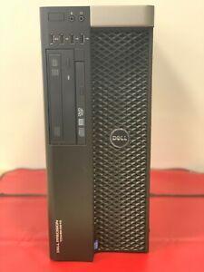 Dell T5810 - Intel Xeon 4C E5-1620v3@3.50GHz, 32GB@2133MHz DDR4, 512GB SSD+1TB