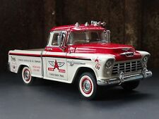 Franklin Mint 1955 Chevy Cameo Flying A Service Pickup Truck 1:24 Scale Diecast