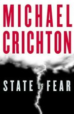 State of Fear by Crichton, Michael Hardback Book The Cheap Fast Free Post