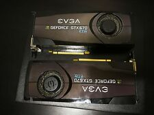 Two EVGA Geforce GTX 670 FTW 2GB Graphics Cards