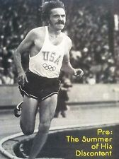 1974 STEVE PREFONTAINE TRACK and FIELD NEWS OCTOBER - PHOTO COVER ONLY !!