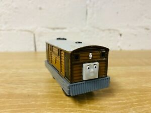 Toby - Thomas Diecast Motorised Battery Operated Wooden Railway Metal Trains