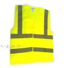 Hi-Viz hi viz Vest reflective safety top school MEDIUM bright vis top emergency