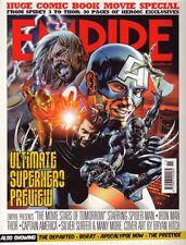 Empire Magazine #209 Spider-man Iron Man Thor Captain America