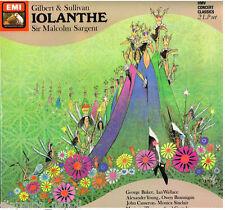 Gilbert & Sullivan: Iolanthe /Sargent, Cameron, Baker, Wallace, Young - LP