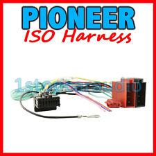 PIONEER to ISO WIRING HARNESS ~ AVH-2350DVD AVH-2450BT AVH-3350BT AVH-4450BT