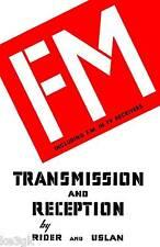 FM Transmission and Reception by Rider * CDROM * PDF