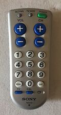 SONY Model RM-EZ2 Easy Big Button Television TV/Cable Silver Remote Control