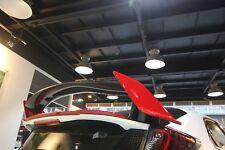 Real Fibra Carbono alerón trasero central Blade APTO PARA HONDA 2015 Civic