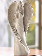 "ANGELS: 9"" Tall Dessert Sand Praying Angel Figurine Statue NEW"