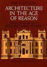 Architecture in the Age of Reason Baroque and Post-B