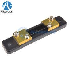 FL-2 DC 75mV 50A Shunt Resistor For Meter Amp Analog Panel Ammeter VoltMeter