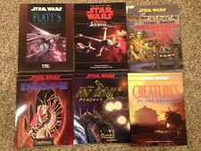 Six Book Star Wars RPG Bundle by West End Games