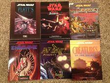 Six Book Star Wars RPG Bundle by West End Games