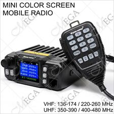 KT-8900D 136-174/220-260/350-390/400-480MHz Mini Car Mobile Radio  (124090)