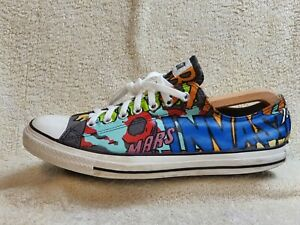 Converse All Star Limited Edition mens trainers Multicoloured UK 12 EUR 46.5