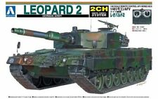 Aoshima 01509 1/48 RC AFV Series No. 6 German Army Leopard 2 Rare from Japan