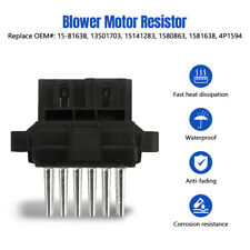 Blower Motor Control Module Resistor For Cadillac Chevy Avalanche Camaro Equinox