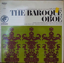 MUSIC FOR THE BAROQUE OBOE-SEALED1967LP Michel Piguet, Oboe