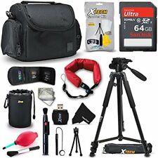 Accessories Kit w/ 64GB f/ Nikon Coolpix A900, B500, B700, L840, L830, W300, W10