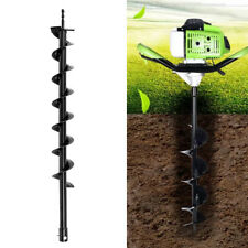 800mmX80mm Auger Bit Drill Earth Petrol Post Hole Digger Garden Planting Tools