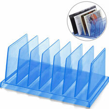 Office File Folder Sorter Table Organizer Vertical Document Paper Mail Holder