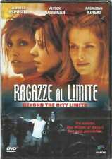 DVD RAGAZZE AL LIMITE BEYOND THE CITY LIMITS NUOVO BLISTERATO INCELOFANATO