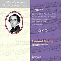 Howard Shelley/ Tasmanian Symphony Orchestra - Cipriani Potter: Piano