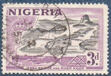 NIGERIA  SG 73  (B431) Good  Used Unreadable place name cds