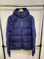 Polo Ralph Lauren Water Repellent Jacket Navy Blue MSRP $298 MEDIUM