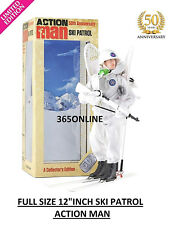 "Ski Patrol Action Man 50th Anniversary 12"" Figures Limited Edition"