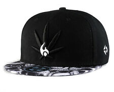 Snapback Hats flat brim unisex Baseball Hip Hop trucker Cannabis marijuana cap