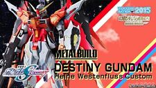 IN STOCK New Metal Build Destiny Gundam Heine Westenfluss Custom Bandai Tamashii