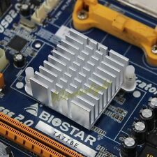 Silver Aluminum Heat Sink 36x36x20mm For Chipset - Northbridge Cooling