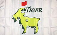 Masters PGA Tiger Woods Goat Flag 3x5 ft Sport Banner Augusta National Golf Club