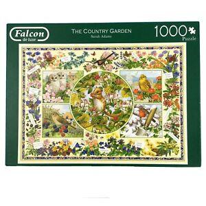 The Country Garden Jigsaw Puzzle 1000 Falcon Birds Wildlife Plants Owl Robin Mou