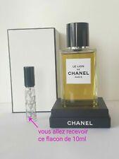 LES EXCLUSIFS de CHANEL Le Lion échantillon (decant 10 ml ) d' eau de parfum