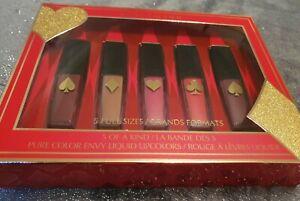 BNIB Estée Lauder 'Pure Color Envy' Liquid 5 full size Lip colours Gift Set