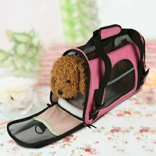 Foldable Pet Dog Cat Outdoor Travel Carrier Backpack Small Puppy Mesh Carry Bag