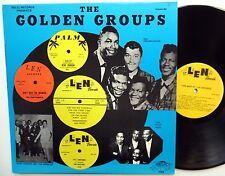 GOLDEN GROUPS Vol.40 LP Doo Wop Near-MINT best of LEN Records