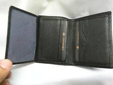 Cartera billetera de hombre de piel negra  marca Gutiore de Ubrique