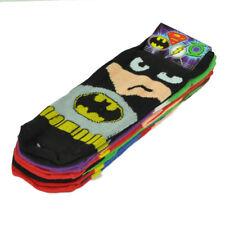 DC Comics Batman Green Lantern Flash Joker5 Pair Socks Woman Shoe Size 4-10