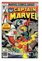 Captain Marvel (1977) #51 VF/NM (9.0)  vs Mercurio 4-D Man