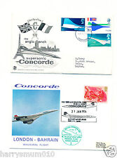(2) FDC. First Day Issue 1969 & 1976 London Bahrain  HPS